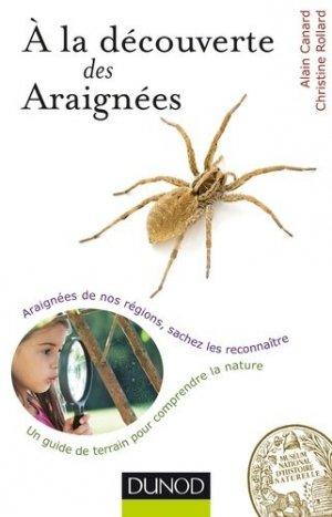 A la découverte des Araignées - dunod - 9782100711048 -