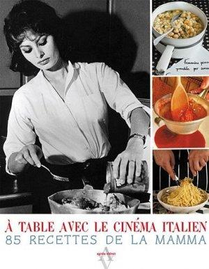 A table avec le cinéma italien - Agnès Viénot Editions - 9782353261314 -