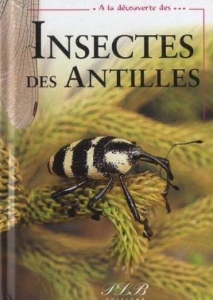 A la découverte des insectes des Antilles - plb - 9782353651030 -