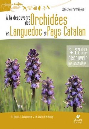 A la découverte des orchidées en Languedoc et Pays Catalan - Biotope - 9782366622225
