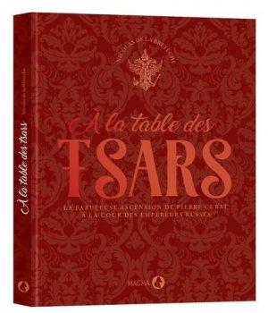 A la table des tsars - macha publishing - 9782374370569 -