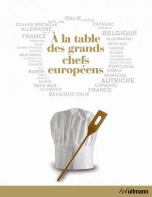 A la table des grands chefs européens - ullmann - 9783848003334 -