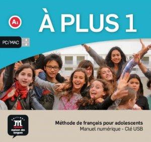 A plus 1 - Méthode de français pour adolescents - maison des langues - 9788417249199 -