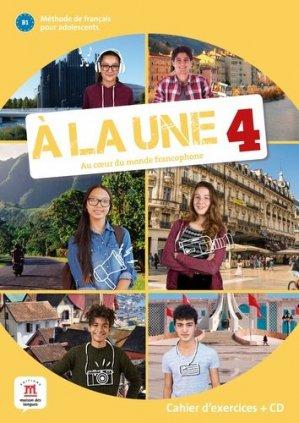 A la une 4 B1. Livre de l'élève, avec 1 CD audio - Difusión Centro de Investigación y publicaciones de idiomas - 9788417260965 -