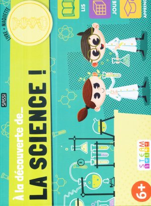 A la découverte de... la science ! - sassi - 9788830301986 -