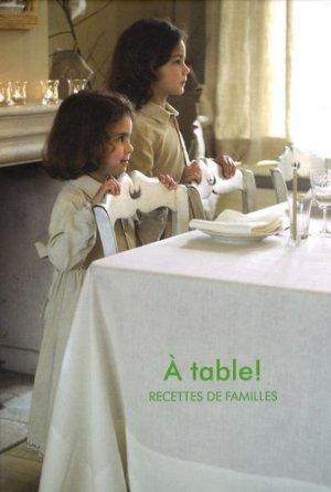 A table ! Recettes de familles - BAI - 9789085864875 -