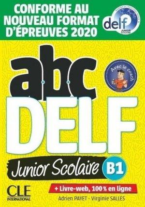 ABC DELF Junior scolaire B1 - cle international - 9782090351965 -