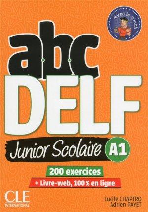 ABC DELF Junior Scolaire A1 - cle international - 9782090382488 -