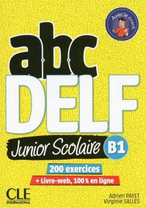 ABC DELF Junior scolaire B1 - Nathan - 9782090382501 -