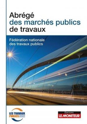 Abrégé pratique des marchés publics - le moniteur - 9782281132625 -