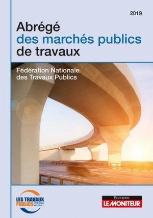 Abrégé des marchés publics de travaux - le moniteur - 9782281133769