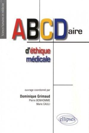 ABCDaire d'éthique médicale - ellipses - 9782340007079 -