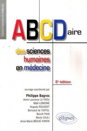 ABCDaire des sciences humaines en médecine - ellipses - 9782729850616 -