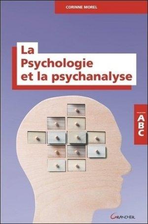 ABC de la Psychologie et de la psychanalyse - grancher - 9782733904602 -