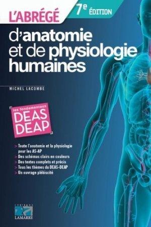 Abrégé d'anatomie et de physiologie humaines - lamarre - 9782757308196