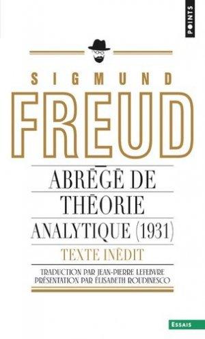Abrégé de théorie analytique (1931) - points - 9782757862643 -