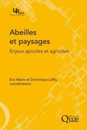 Abeilles et paysages - quae  - 9782759223589 -
