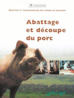 Abattage et découpe du porc - educagri - 9782844444165 -