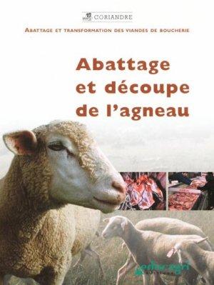 Abattage et découpe de l'agneau - educagri - 9782844444172 -