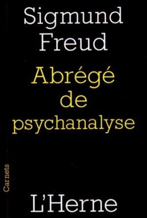 Abrégé de psychanalyse - l'herne - 9782851972897 -