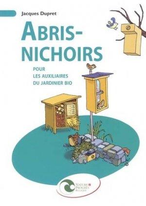 Abris-nichoirs - nature et progrès belgique - 9782930386485