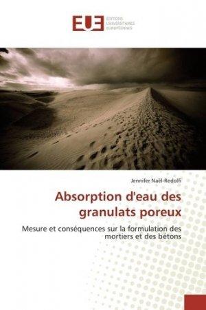 Absorption d'eau des granulats poreux - universitaires europeennes - 9783841728395 -