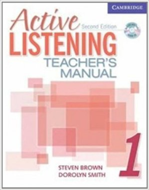 Active Listening Level 1 - Teacher's Manual with Audio CD - cambridge - 9780521678148 -
