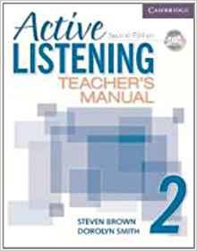 Active Listening Level 2 - Teacher's Manual with Audio CD - cambridge - 9780521678186 -