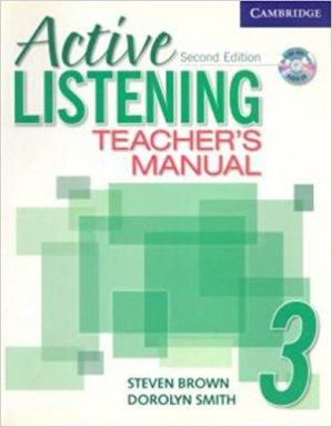 Active Listening Level 3 - Teacher's Manual with Audio CD - cambridge - 9780521678223 -