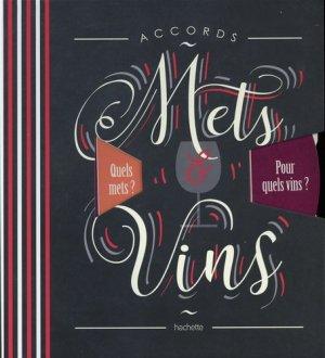 Accords mets et vins - hachette - 9782019451554 -