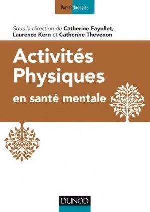 Activités physiques en santé mentale - dunod - 9782100789399 -