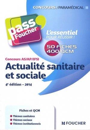 Actualité sanitaire et sociale - foucher - 9782216124930 -