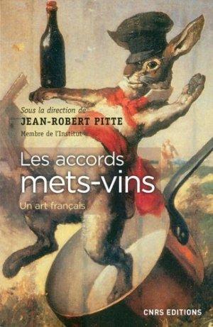 Accords mets-vins - cnrs - 9782271116192 -