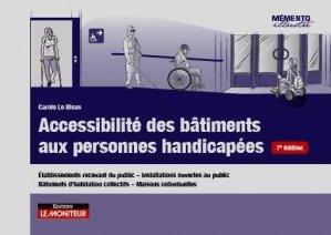 Accessibilité des bâtiments aux personnes handicapées - le moniteur - 9782281143379 -