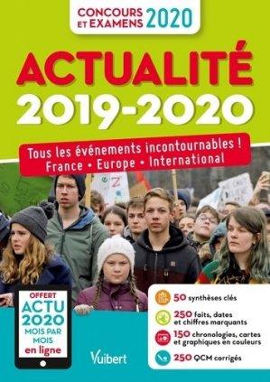 Actualité 2019-2020 - vuibert - 9782311208832 -