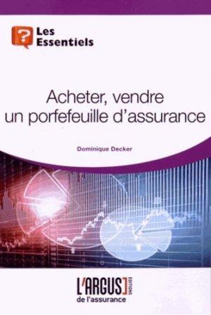 Acheter, vendre un portefeuille d'assurance - Groupe Industrie Services Info - 9782354741648 -
