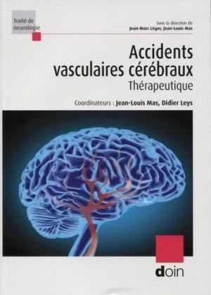 Accidents vasculaires cérébraux - doin - 9782704015832 -