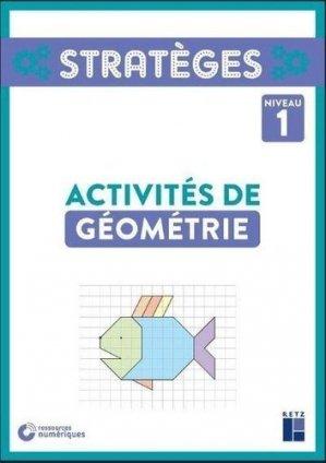 Activités de géométrie niveau 1 - Retz - 9782725639352 -
