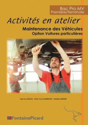 Activités en atelier Bac pro - 1ere/Tle - fontaine picard - 9782744628948 -