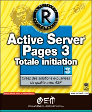 Active Server Pages 3 - osman eyrolles multimedia - 9782746402645 -