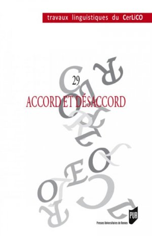 Accord et désaccord - presses universitaires de rennes - 9782753576971