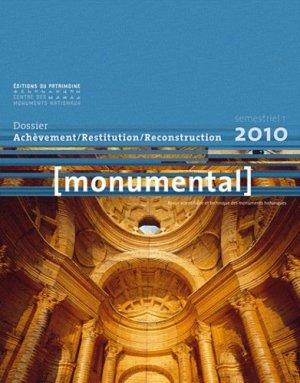 Achèvement / Restitution / Reconstitution - du patrimoine - 9782757701065 -
