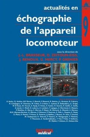 Actualités en échographie de l'appareil locomoteur tome 9 - sauramps medical - 9782840238577 -