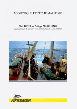 Acoustique et pêche maritime - ifremer - 9782905434692 -