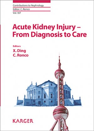 Acute Kidney Injury - From Diagnosis to Care - karger  - 9783318058253 -