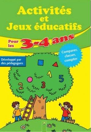 Activités et jeux éducatifs pour les 3-4 ans - Komet - 9783862334001 -