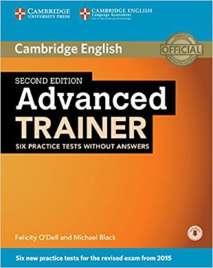 Advanced Trainer - Six Practice Tests without Answers with Audio - cambridge - 9781107470262