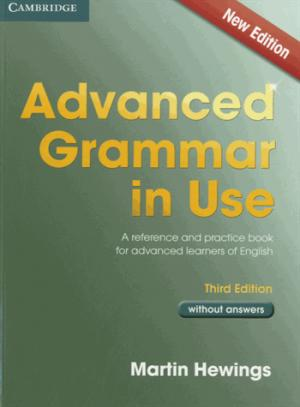 Advanced Grammar in Use - Book without Answers - cambridge - 9781107613782 -