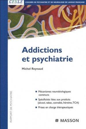 Addictions et psychiatrie - elsevier / masson - 9782294020926
