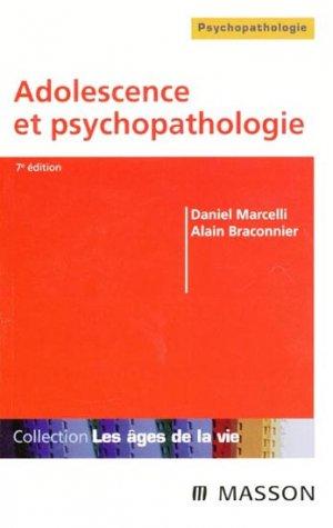 Adolescence et psychopathologie - elsevier / masson - 9782294089664